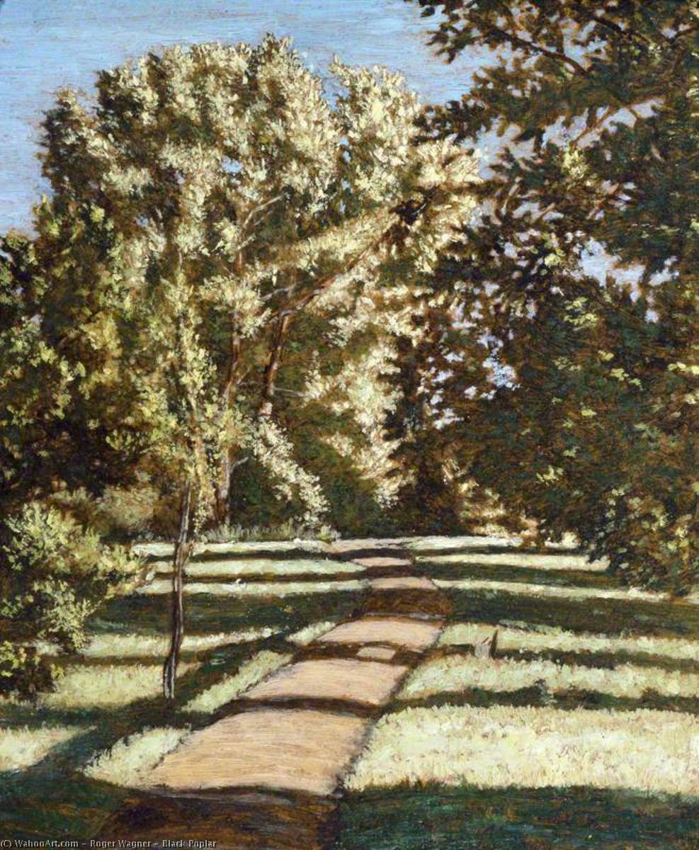 Wikioo.org - The Encyclopedia of Fine Arts - Painting, Artwork by Roger Wagner - Black Poplar