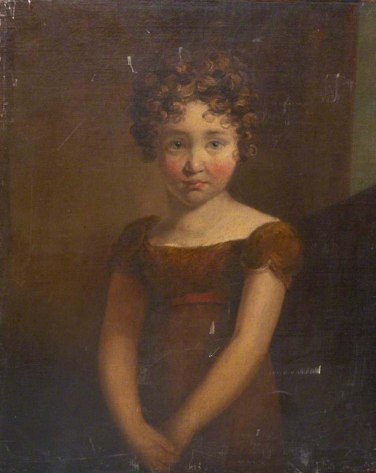 Wikioo.org - The Encyclopedia of Fine Arts - Painting, Artwork by William Brockedon - Miss Louisa Champernowne (b.1809)