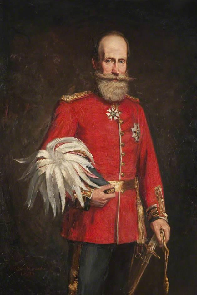 Wikioo.org - The Encyclopedia of Fine Arts - Painting, Artwork by William Gordon Burn Murdoch - Major General Sir Robert Murdoch Smith (1835–1900), KCMG