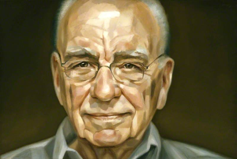 Wikioo.org - The Encyclopedia of Fine Arts - Painting, Artwork by Jonathan Yeo - (Keith) Rupert Murdoch