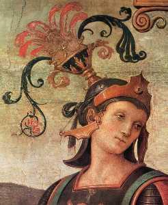 Famous Men of Antiquity (detail)