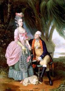 John Wilkes and His Daughter Polly