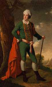 Portrait of a Man, Known as the Indian Captain
