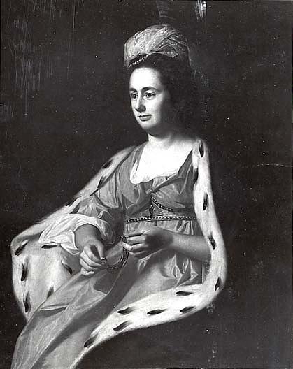 Wikioo.org - The Encyclopedia of Fine Arts - Painting, Artwork by John Singleton Copley - Abigail Smith Babcock (Mrs. Adam Babcock), (painting)