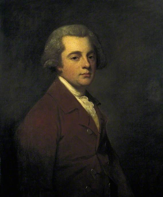 Wikioo.org - The Encyclopedia of Fine Arts - Painting, Artwork by George Romney - Benjamin (Thomas) Mee the Younger (1742–1796)