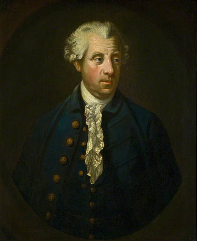 Wikioo.org - The Encyclopedia of Fine Arts - Painting, Artwork by Robert Hunter - Simon Harcourt (1714–1777), 1st Earl Harcourt