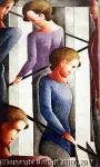 Wikioo.org - The Encyclopedia of Fine Arts - Artist, Painter  Oskar Schlemmer