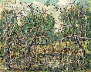 Florida Mangroves - Ernest Lawson