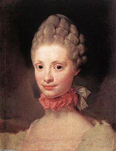 Maria Luisa of Parma - Anton Raphael Mengs
