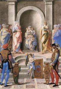 The Three Theological Virtues - Giulio Clovio