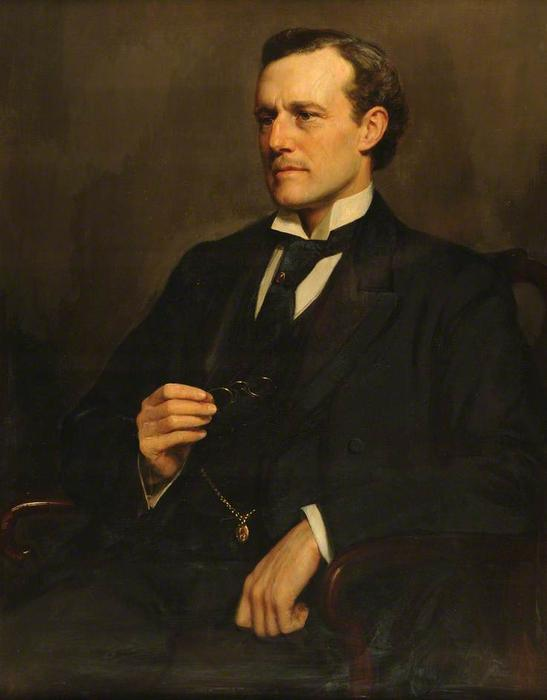 Sir Willoughby Heyett Dickinson - John Maler Collier