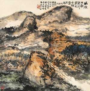 Wikioo.org - The Encyclopedia of Fine Arts - Artist, Painter  Zhu Qizhan