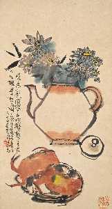 Wikioo.org - The Encyclopedia of Fine Arts - Artist, Painter  Cheng Shifa