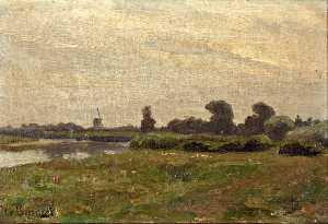Wikioo.org - The Encyclopedia of Fine Arts - Artist, Painter  Jan Willem Van Borselen