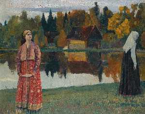 Wikioo.org - The Encyclopedia of Fine Arts - Artist, Painter  Mikhail Vasilievich Nesterov