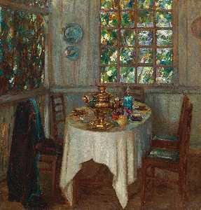 Wikioo.org - The Encyclopedia of Fine Arts - Artist, Painter  Stanislav Yulianovich Zhukovsky