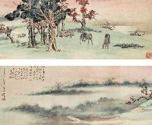 Wikioo.org - The Encyclopedia of Fine Arts - Artist, Painter  Zhang Shanzi