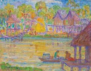 Wikioo.org - The Encyclopedia of Fine Arts - Artist, Painter  Theo Meier