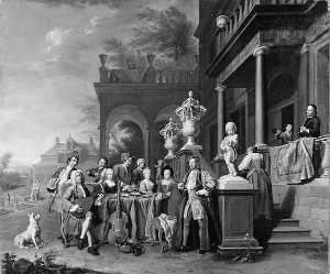 Wikioo.org - The Encyclopedia of Fine Arts - Artist, Painter  Peter Jacob Horemans