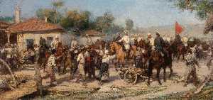Wikioo.org - The Encyclopedia of Fine Arts - Artist, Painter  Pavel Osipovich Kovalevsky