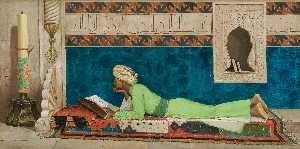 Wikioo.org - The Encyclopedia of Fine Arts - Artist, Painter  Osman Hamdy Bey