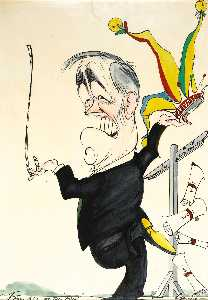 Wikioo.org - The Encyclopedia of Fine Arts - Artist, Painter  Gerald Scarfe
