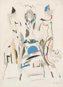 Wikioo.org - The Encyclopedia of Fine Arts - Artist, Painter  Sergei Vasil'evich Chekhonin