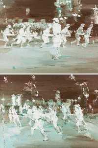 Wikioo.org - The Encyclopedia of Fine Arts - Artist, Painter  Xiao Bo