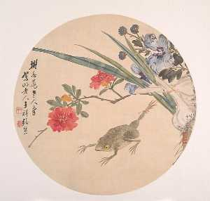 Wikioo.org - The Encyclopedia of Fine Arts - Artist, Painter  Zhang Xiong