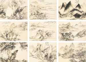 Wikioo.org - The Encyclopedia of Fine Arts - Artist, Painter  Zhu Angzhi