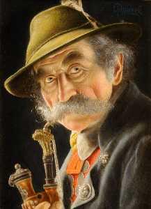 Wikioo.org - The Encyclopedia of Fine Arts - Artist, Painter  Christian Heuser