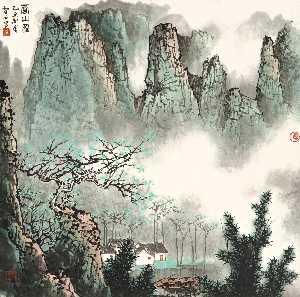 Wikioo.org - The Encyclopedia of Fine Arts - Artist, Painter  Bai Xueshi