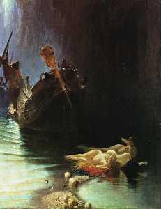 Wikioo.org - The Encyclopedia of Fine Arts - Artist, Painter  Edoardo Dalbono