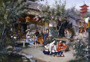 Wikioo.org - The Encyclopedia of Fine Arts - Artist, Painter  Harry Humphrey Moore