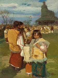 Wikioo.org - The Encyclopedia of Fine Arts - Artist, Painter  Ivan Trusz
