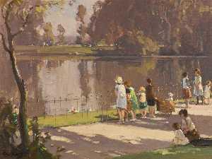 Wikioo.org - The Encyclopedia of Fine Arts - Artist, Painter  Frank Mckelvey