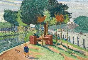 Wikioo.org - The Encyclopedia of Fine Arts - Artist, Painter  Harry Kernoff