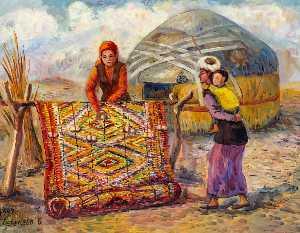 Wikioo.org - The Encyclopedia of Fine Arts - Artist, Painter  Bazarbay Serekeev
