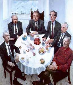 Wikioo.org - The Encyclopedia of Fine Arts - Artist, Painter  Stuart Pearson Wright