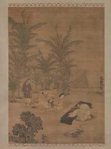 Wikioo.org - The Encyclopedia of Fine Arts - Artist, Painter  Du Jin