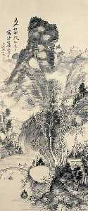 Wikioo.org - The Encyclopedia of Fine Arts - Artist, Painter  Uragami Gyokudō